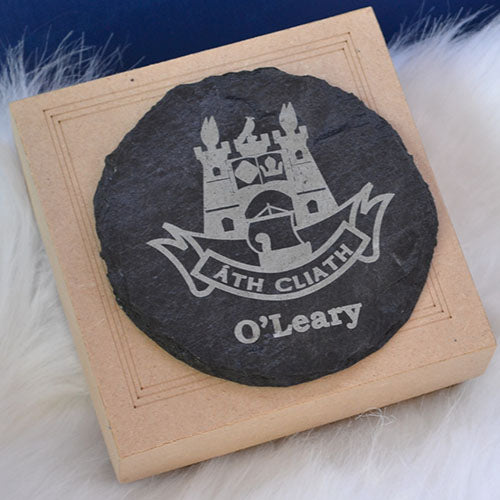 GAA Engraved Slate Coasters