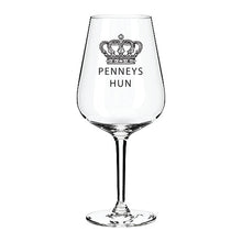 Load image into Gallery viewer, Penneys Engraved Wine Glass Engraved Wine Glass