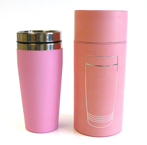 Personalised Travel Mug Engraved Reusable Coffee Cup