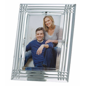 Galway Crystal Photo Frame Wedding Photo Frame Crystal Picture Frame Irish Crystal Wedding Photo Frame