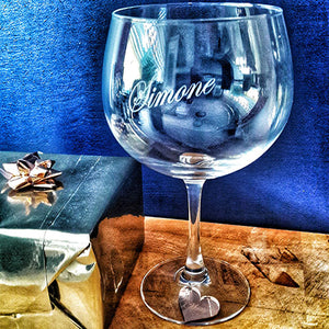 Personalised Gin Glass