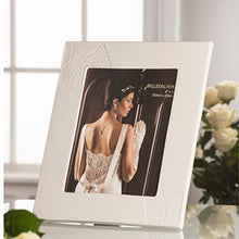 Load image into Gallery viewer, Engraved Wedding Photo Frame Engraved Wedding Gift Photo Frame Picture Frame Wedding Picture Frame Engraved Wedding Present