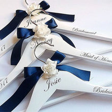 Load image into Gallery viewer, Engraved Bridal Party Hangers Personalised Bridal Party Hangers