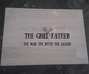 Engraved Chopping Board Personalised Chopping Board