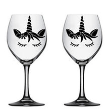Load image into Gallery viewer, Unicorn Engraved Wine Glass