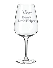 Load image into Gallery viewer, Engraved Wine Glass Personalised Wine Glass
