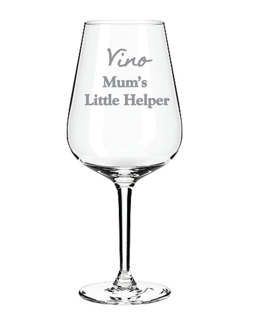 Engraved Wine Glass Personalised Wine Glass
