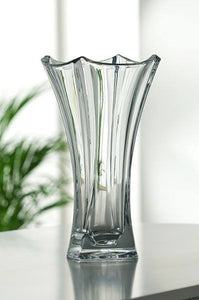 Galway Crystal Dune Waisted Vase 14""