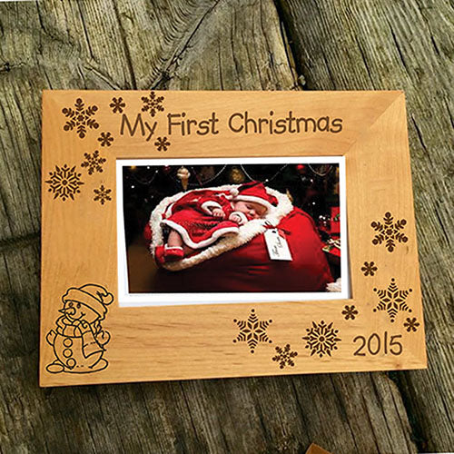 Engraved Picture Frame Personalised Picture Frame Engraved Wooden Picture Frame
