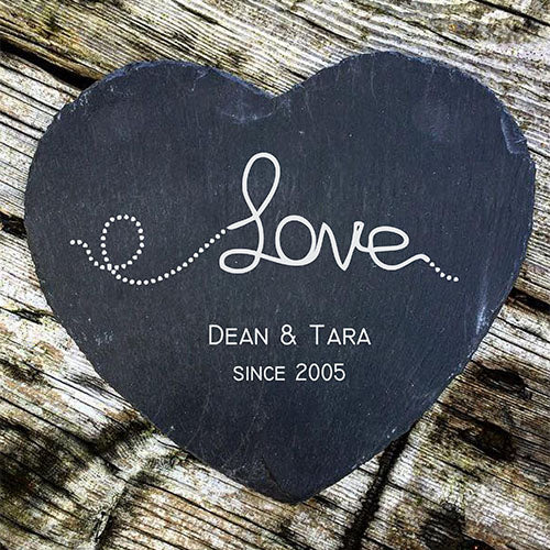Engraved Cheese Board Personalised Slate Cheese Board