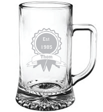 Load image into Gallery viewer, Established Engraved Beer Tankard