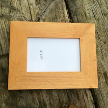 Load image into Gallery viewer, Engraved Wooden Picture Frame