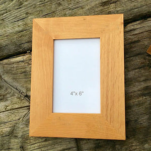Any Message Here Engraved Wooden Photo Frame