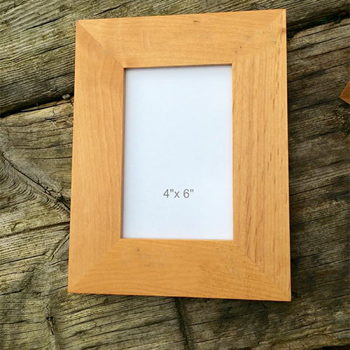Engraved Personalised Family Photo Frame
