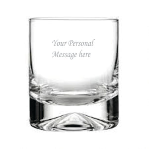Coat of Arms Engraved Whisky Glass
