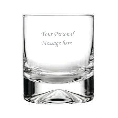 Your Personal Message Here Whisky Glass