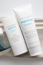 Brighten Up! Exfoliator + Amplify Moisturizer Kit