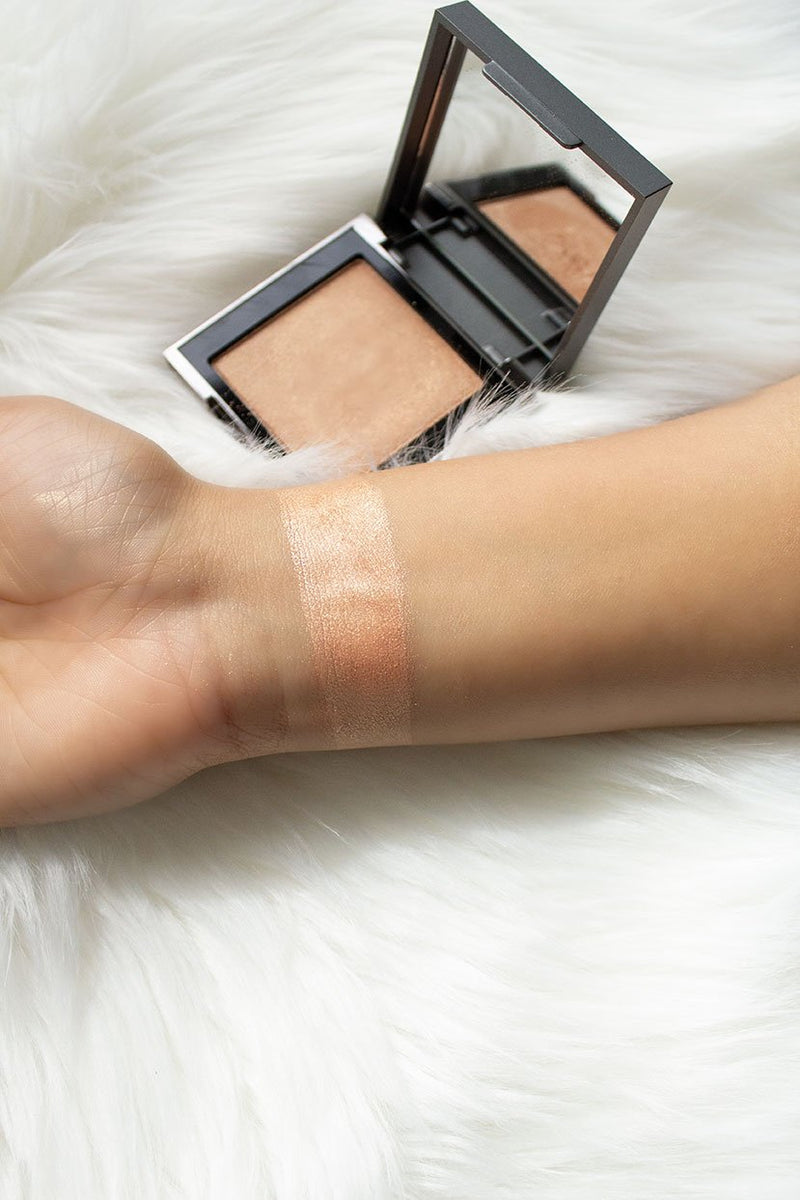 Vasanti Astro Highlighter - Wrist swatch lifestyle shot