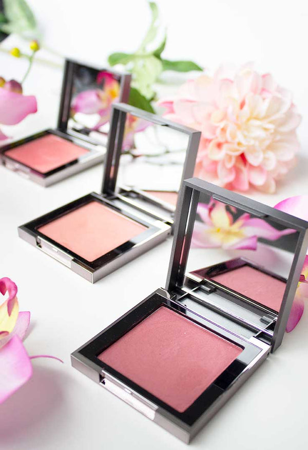 Vasanti Bloom Mineral Blush - All 3 Lifestyle shot
