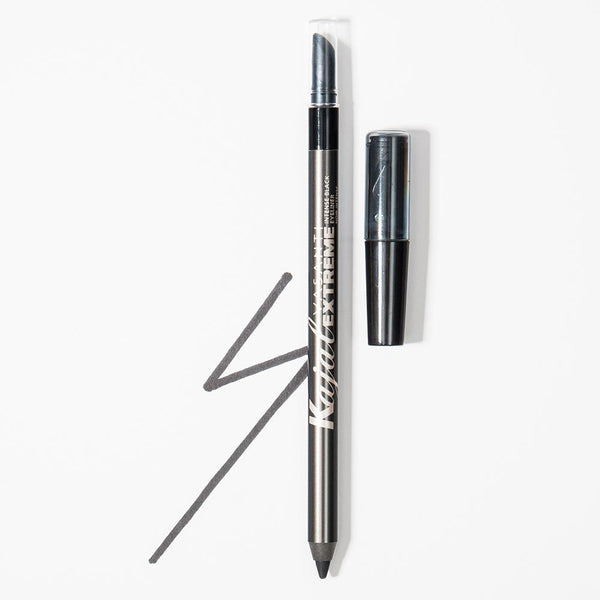 Vasanti Extreme Intense Eyeliner Pencil - Shade Extreme Black with swatch Lifestyle Shot