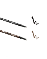 Vasanti Extreme Intense Eyeliner Pencil - Swatches on white background