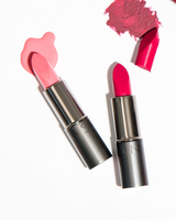 Vasanti Love Brights Gel Matte Lipstick - Lifestyle shot on white background