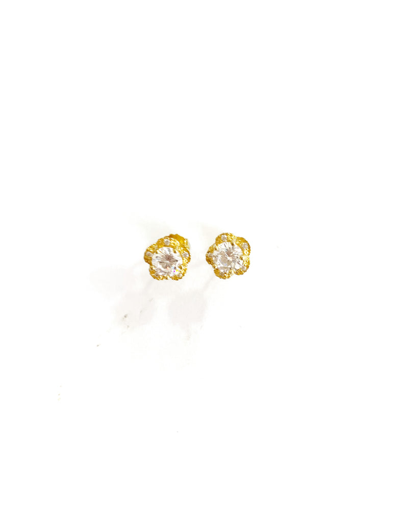 Tiny Rosi Detail Earrings (925 Silver)