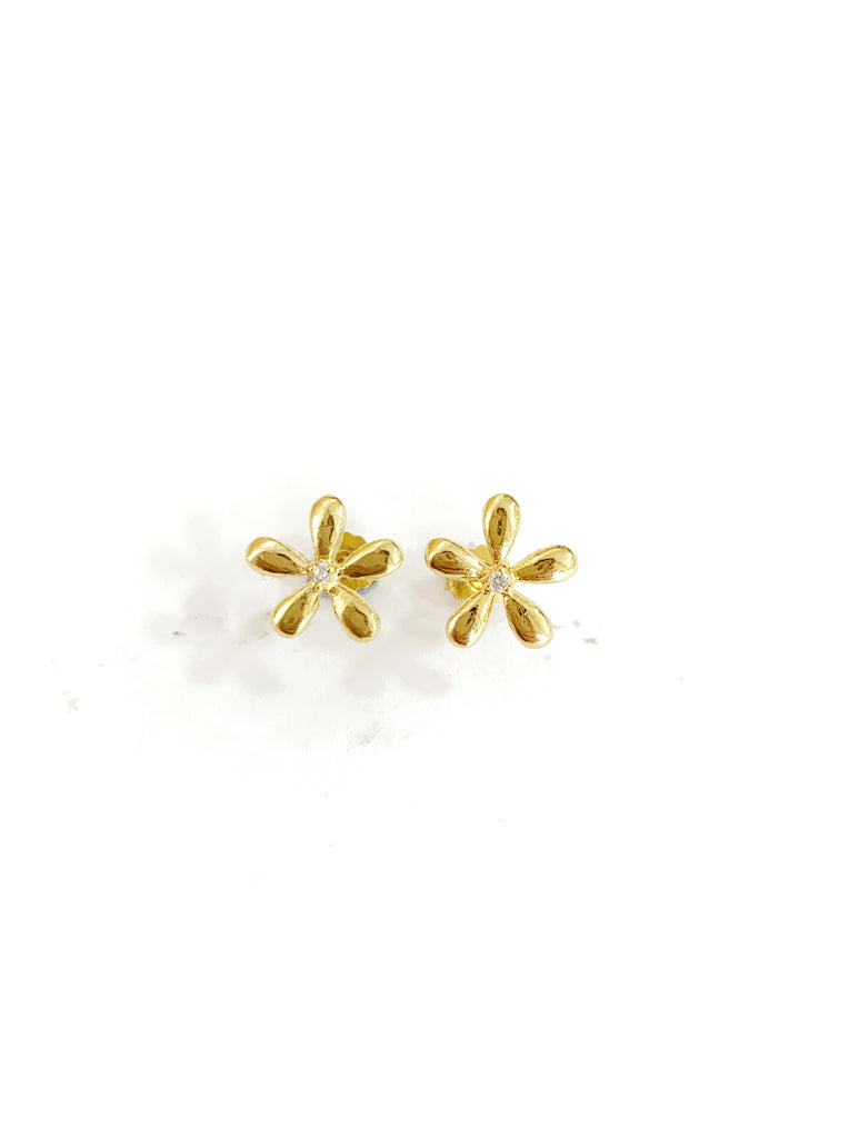 Mini Daisy Earrings (925 Silver)