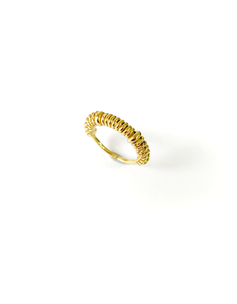 Twisted Female Ring ( 925 Silver)