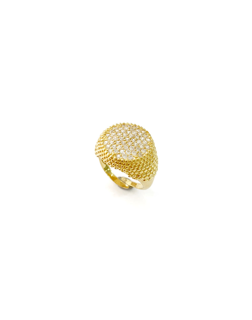 Trivia Pinky Ring (925 Silver)