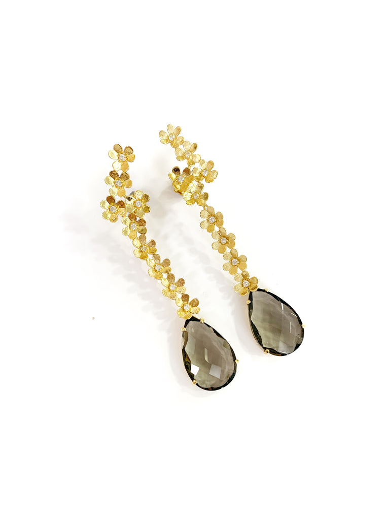 Sun Seeds Earrings (925 Silver)