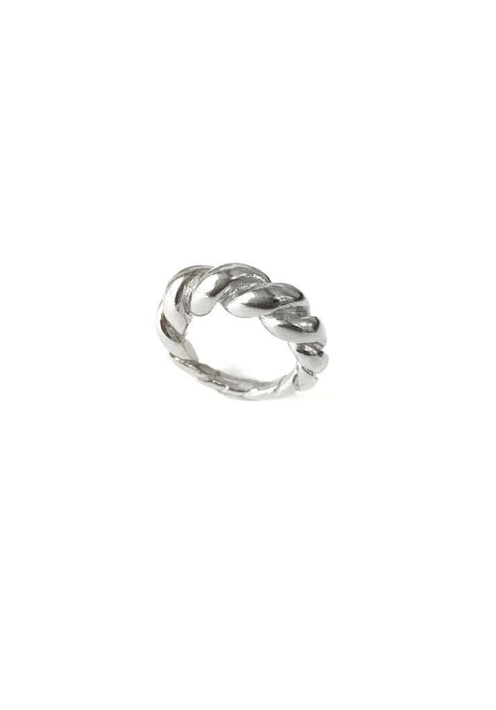 Anelão Torcido Ring ( 925 Silver)