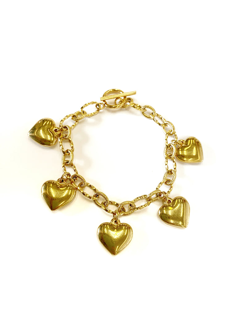 Heart Bracelet ( Stainless SteelSize)