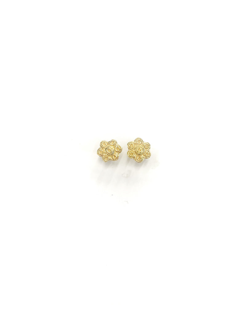 Tiny Flower Earrings (925 Silver)