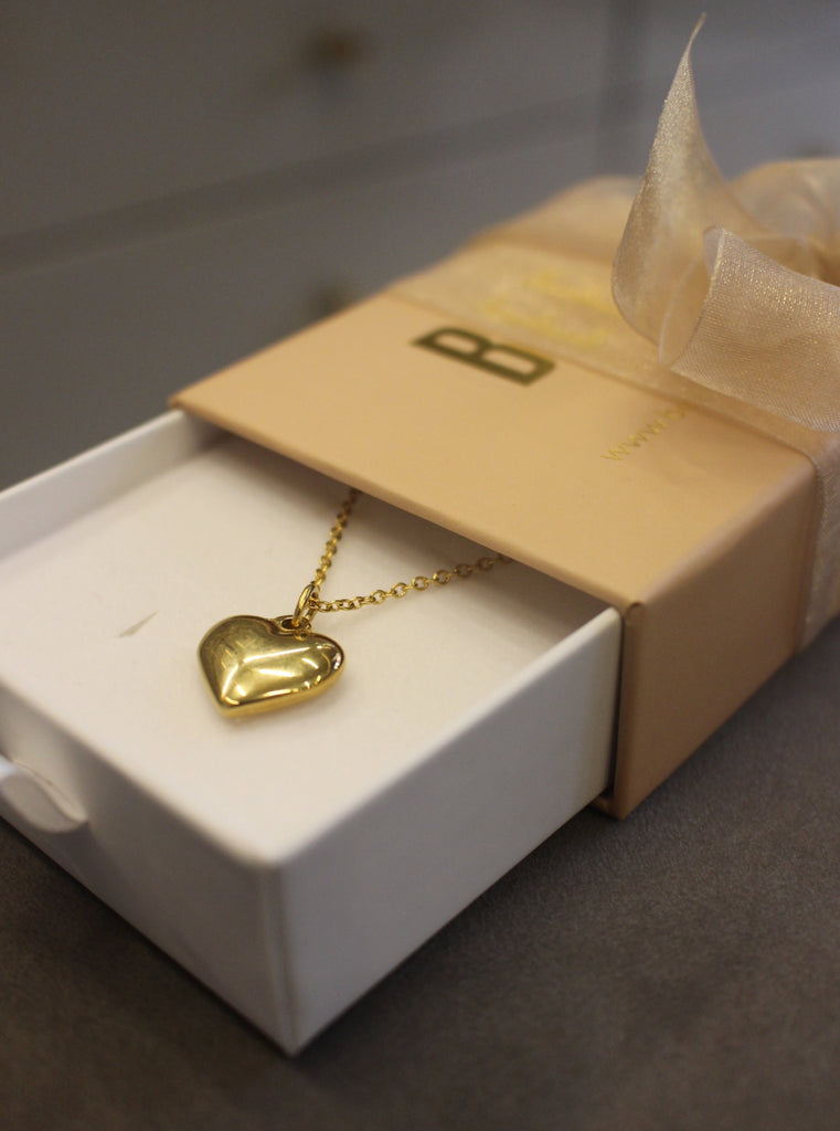 Heart Necklace (Stainless Steel)