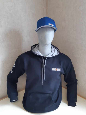 2020 Black with Gray Hood Pullover