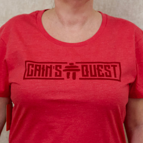 Women's Heather Red Infusion Tee