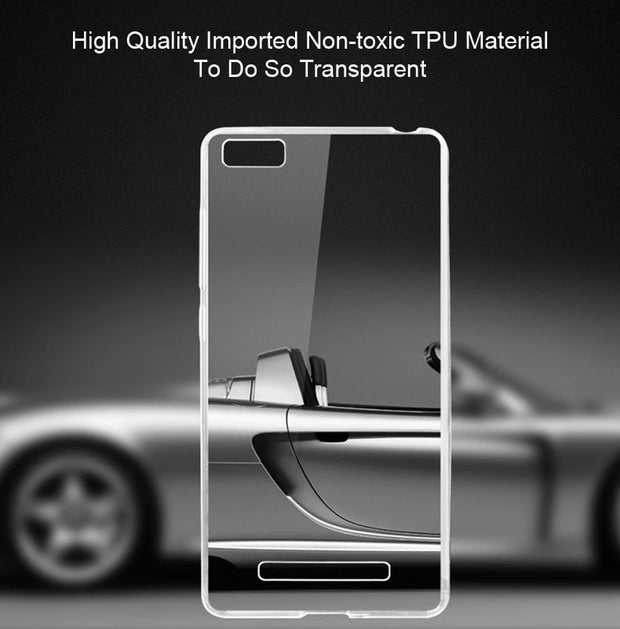 0.5mm For Xiaomi Mi4i Case Cover Ultrathin Transparent TPU Soft Cover Protective Case Mi 4i For Xiaomi Mi4i Back Cover Bags