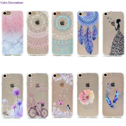 10 Species Pattern Ultra Thin Butterfly Flower TPU Silicone Cover For Apple IPhone 6S Plus Case On IPhone 6 Plus Cellphone Cases