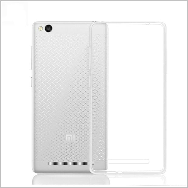 100% Quality Clear Case For Xiaomi Redmi Note 5A 3S 4A 4pro 5s Plus Mi6 Soft Gel TPU Case Hongmi Note 4X 3s Silicone Protective