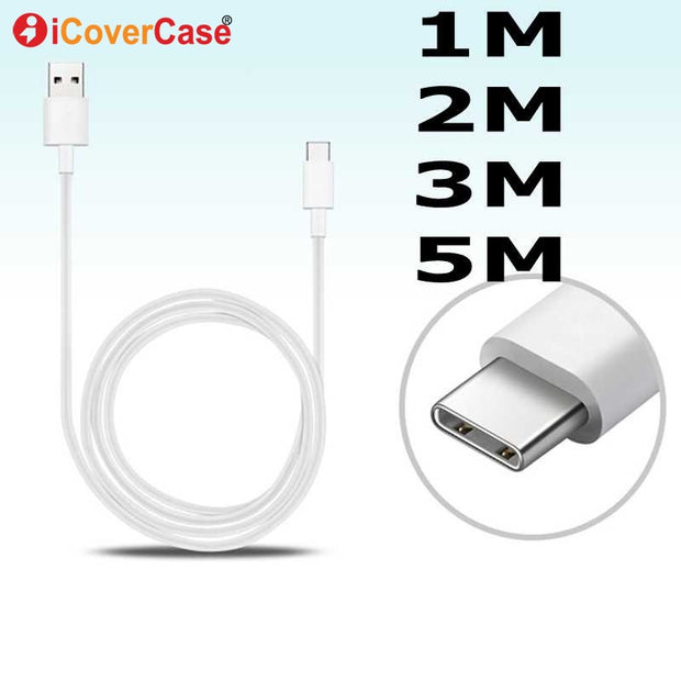 1M 2M 3M 5M Type C Cable For Huawei P20 Lite P 20 Mate 20 Pro Mate20 X RS Porsche Design USB C Cable Phone Charger Charging Line