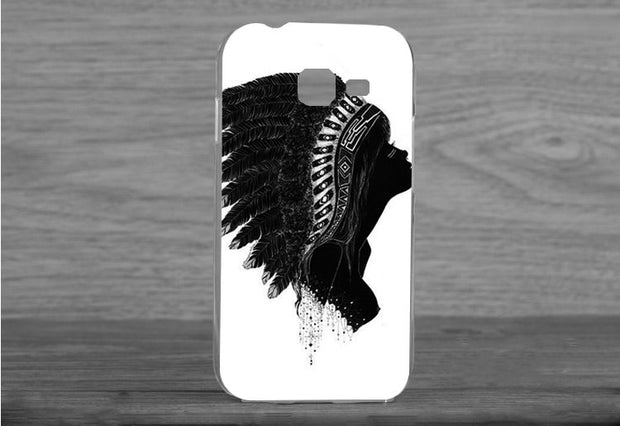 2015 Fashion Diy White And Black Animals Case Cover FOR Samsung Galaxy Star Pro Fashion Cover Case S7262 S7260