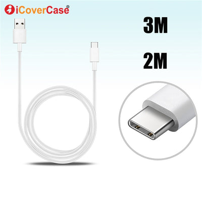 2M 3M 5M Type C Cable For Oppo Find X TypeC Charger Mobile Phone Accessories Charging Plug For FindX USB C 3 5 Meters Kable Cabo
