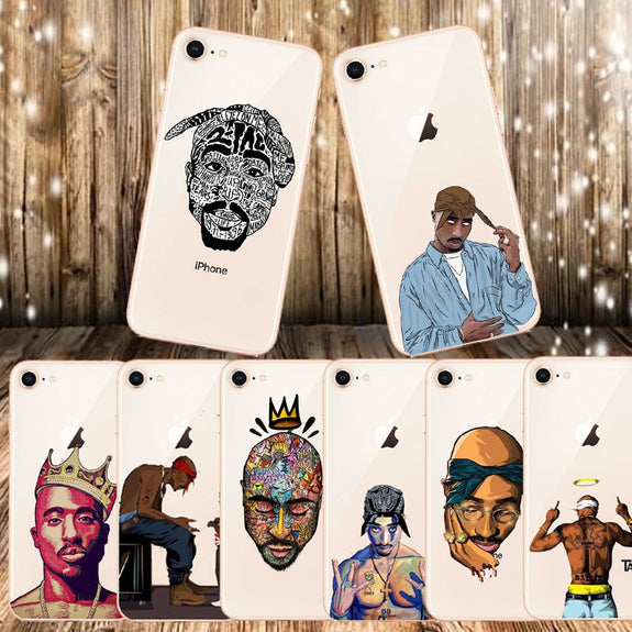 coque 2pac iphone 8
