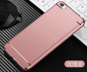 3 In 1 360 Degree Shockproof Protection Case For Xiaomi 6 5S Plus For Redmi 4X Note 3 4 4X Fashion Hard Back Matte Back Cover