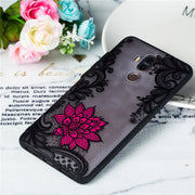 3D Black Lace Rose Phone Case For Huawei Nova 2 2s Plus Mate 9 10 Pro 10Pro Luxury Mate10 Mate9 Cases Flower Cover Coque Funda