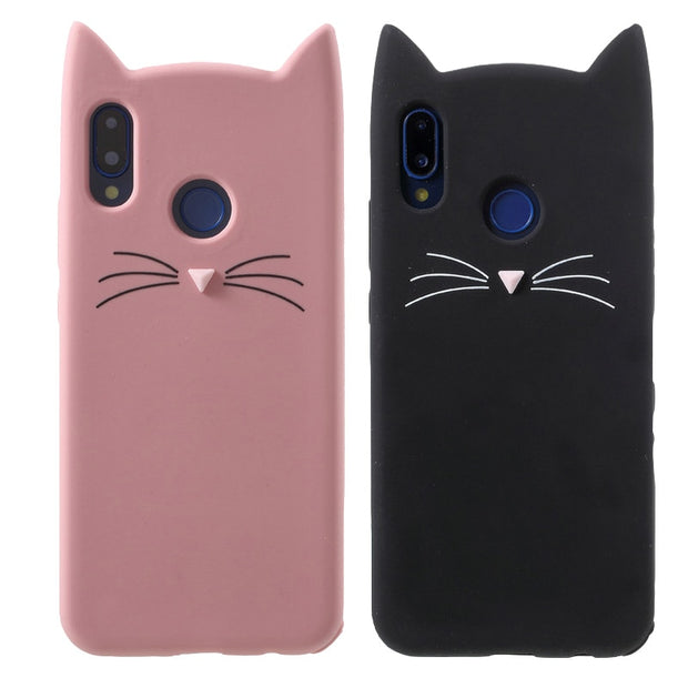 3D Cartoon Stitch Cat Silicon Case For Fundas Huawei P20 Lite P 20 Lite Cover Cute Soft Rubber Cover For Huawei P20 Lite P20lite