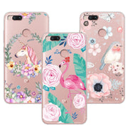 "3D Case Cover For Xiaomi Mi 5X 5.5"" Relief Lace Plant Flower Cute Soft Silicon Phone Case For Xiaomi Mi5X For Xiaomi Mi A1+Gift"