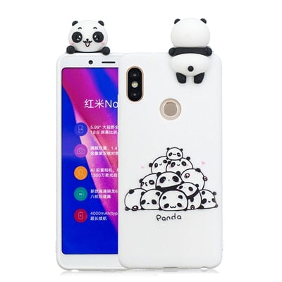 Xiaomi Redmi Note 4 Case Cute Panda