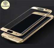 3D Curved Surface Screen Cover Coverage Tempered Glass Film For Samsung Galaxy J5 J7 Prime A5 A7 A3 2017 S7 S6 Edge Plus Cover